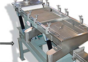 Witte process equipment offered with leg extensions to adjust height.