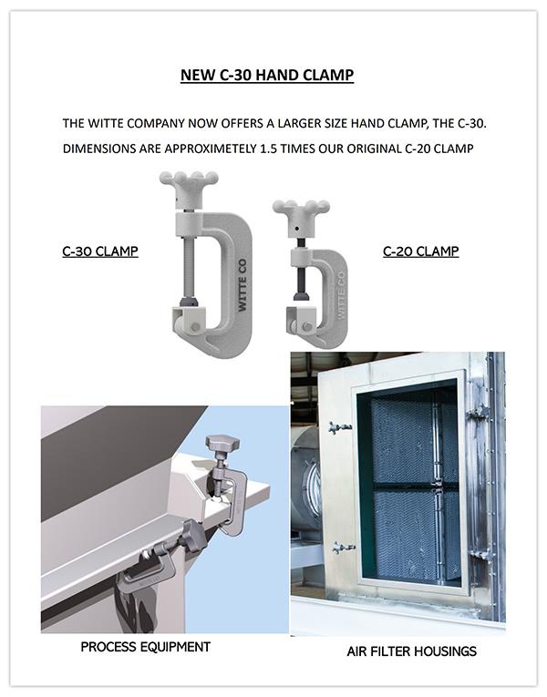 Witte Clamp Brochure