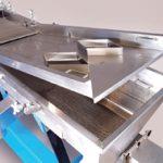 Witte 700 plastic pellet classifier raised decks