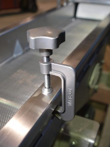 Witte clamp on process dryer classifier