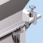 Witte Clamps Open, Close on Machine