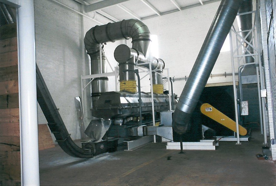 Witte salt drying system.