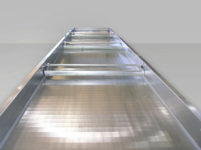 Witte wedgewire conveying surface fluid bed dryers coolers prevents product attrition