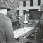 Witte Company founder Richard Witte tests process equipment in New York, 80th anniversary