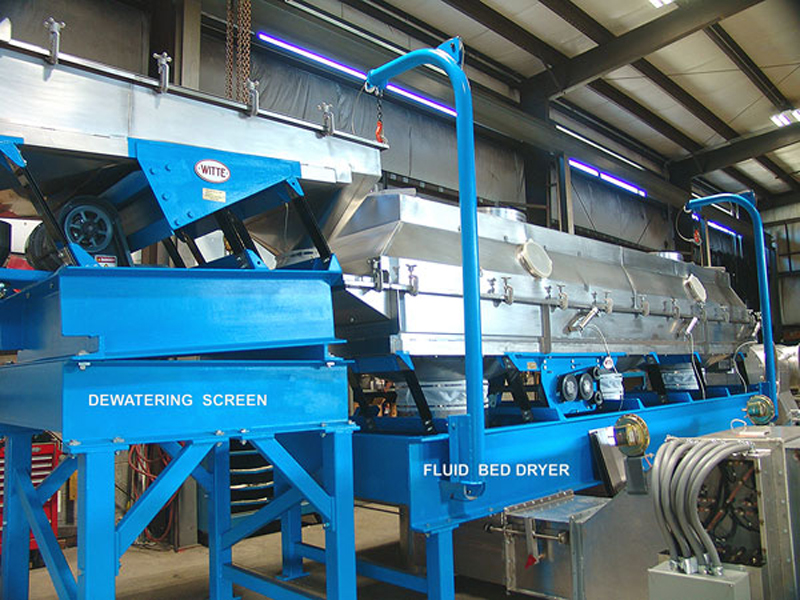 Witte dewatering screen