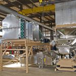 Recycling heated process air with Witte fluid bed dryer