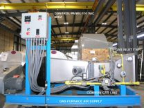 Witte fluid bed dryer furnace air supply