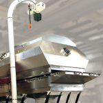 Witte cover lift davit system dryer