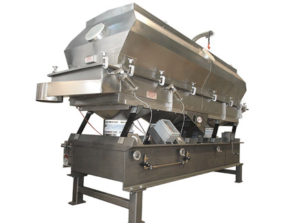 Witte fluid bed dryer improves efficiency